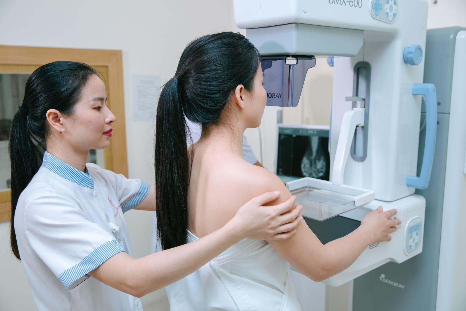 Khi mắc u xơ tuyến vú, chị em nên có kế hoạch thăm khám vú định kỳ