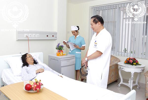 Chăm sóc sức khỏe bệnh nhân sau khi cắt ruột thừa tại Bệnh Viện Đa Khoa Bảo Sơn