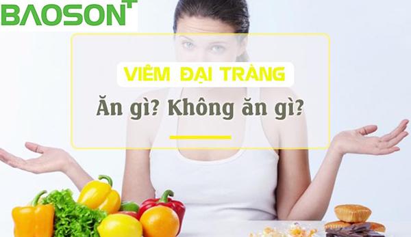 Viêm đại tràng nên ăn uống như thế nào?